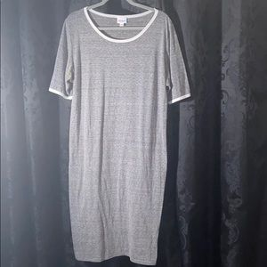 Gray LuLaroe Julia
